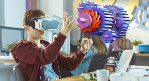 réalité virtuelle école