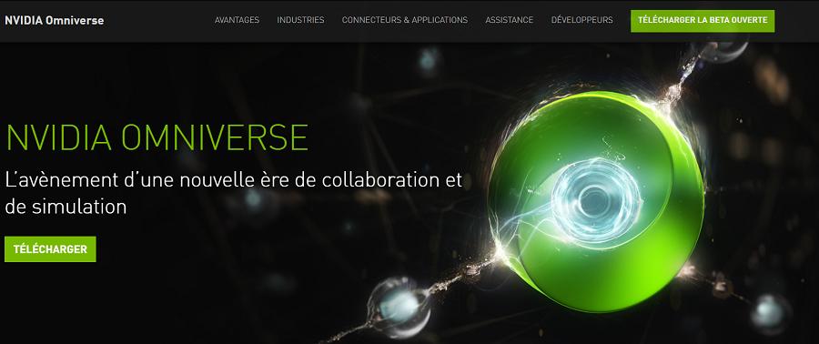 A la découverte du métaverse Nvidia : Omniverse